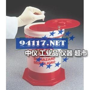 6370-0015Nalgene生物危险废品容器 57L