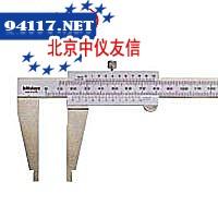 160系列带有圆弧刃量爪刻度游标卡尺