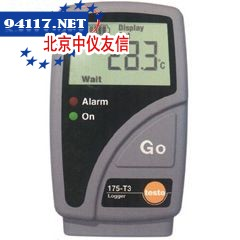 testo175-T3电子温度记录仪