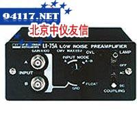 LI-75A用于测量微弱信号的低噪声前置放大器