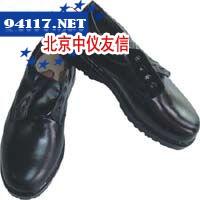 低邦黑光面钢头绝缘鞋(9005#)