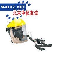 供气式半盔防护面罩组合