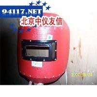 加厚红钢纸电焊面罩