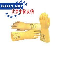 高压橡胶绝缘手套17KV,黑色,9号