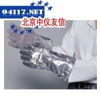 涂铝五指手套