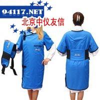 蓝色X射线防护服