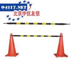 警示栏杆32mm×2m,黄/黑色
