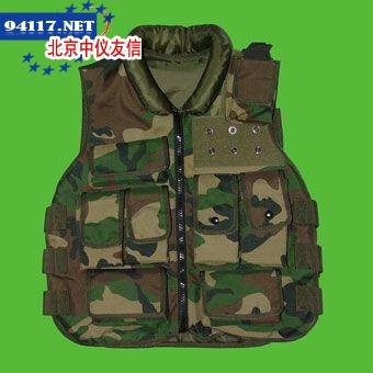 软质军绿迷彩防弹衣