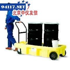 防泄漏油桶拖车