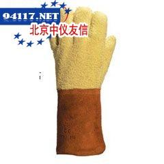 203007GFK58H芳纶毛圈布高温防割手套350℃-400℃