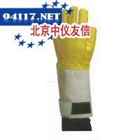 344-11GLakeland皮质消防手套