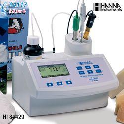 微电脑酸度/pH值滴定分析仪HI84429