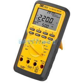 真有效值 三用电表 tes-2900