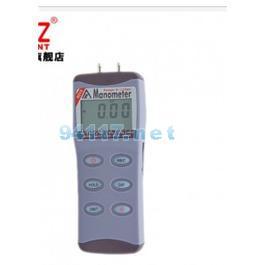 衡欣AZ8215精密电子压力计空气数字微压差计