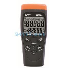 HT300-带K/J型探头的红外线温度计
