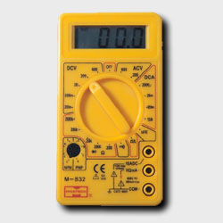 普通手持式数字万用表M832华谊仪表MASTECH 普通手持式数字万用表M832
